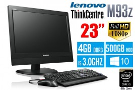 Lenovo ThinkCentre M93z 23-Inch All-in-One Desktop (10AF001KUS)