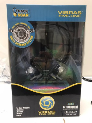 Vibras Five.One USB, 5.1 Channel Surround Sound Headset System